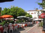 cafe culture in Marbella