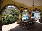 Enjoy breakfast and evening meals with friends and family surrounded by attractive planting and view