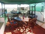 Roof Terrace With Cooking Facilities