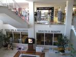 Health & Beauty Spa, & Shops within Atrium
