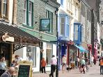 Keswick Town Centre just a few minutes walk from Greta Bank Cottage