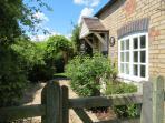 Barn Owl cottage - Patio Area