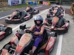 Karting at Lessay, age restriction applies.