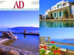 Villa Drakothea was featured in AD ITALIA