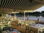 St Martin restaurant along the river