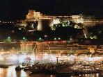 Monaco Hercules port at night- 5 minutes walk away from apartment