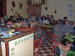 Anidri Kafenion - indoors (in the winter)