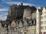 Edinburgh 55 miles away