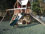 The play area in full swing