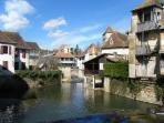 Salies de Bearn......historical town centre with excellent restaurants, thermal spa, shops etc.