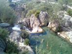 L'Algar falls