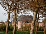 Les remparts à Montreuil