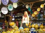 choose brilliant china from around Morocco at stalls by the road.