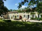 Barrusclet - A traditional stone farmhouse set in 40 acres of fields and woodland.