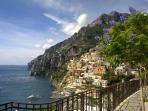 POSITANO'S MAIN BEACH VIEW