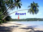 Beach near Villa (250 meters)
