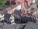 Ludlow from the air
