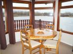 Dining Area with the Lake all around