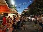 Meet the locals at the summer evening 'Nocturnes' - a celebration of music, wine and food!
