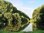 The Haras lake