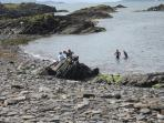 Swim if you like -- sandy beaches nearby in Oban and on Mull