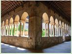 Interior of Cloister; a 12th century gem.