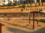 Outdoor Gym amongst the Facilities