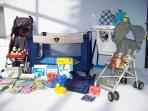 Full range of baby equipment