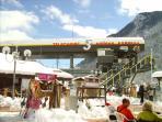 Ski link to Orelle/Val Thorens