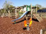 Children's playground, just round the corner