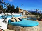 Poolside Sunbed