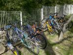 Lots of bikes to choose from
