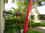 Garden between Villas