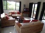 TV lounge Villa 1 downstairs