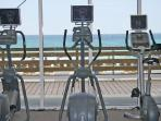 Gulf-Front Fitness Center