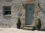A traditional Derbyshire stone barn