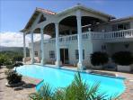 Eagle Villa pool area