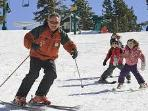 Gramps & Grandkids Skiing