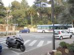 The main promenade In OspedalettiCorso Regina Margherita