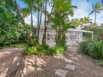 You have just walked through the gate to Nota Villa, the original Port Douglas Beach Cottage