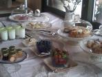 natural homemade breakfast