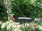 Petite pose au jardin
