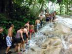 Dunns River fall - 5 minutes drive away