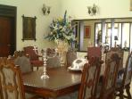Elegant formal dining room for those special occassions
