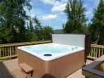 8-person hot tub!