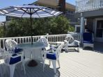 Eat, Drink and be Merry!  Huge ocean front deck is perfect for entertaining.