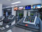 On Site Fully Equipped Gym at the resort. Free to Oracle B101 Residents