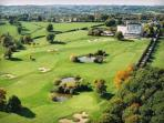 Internatiional Golf Course at Pouligny Notre Dame, 18 Holes, par 72