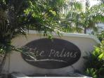 The Palms Sign at The Main Entrance