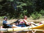 Paddling On The Crooked River